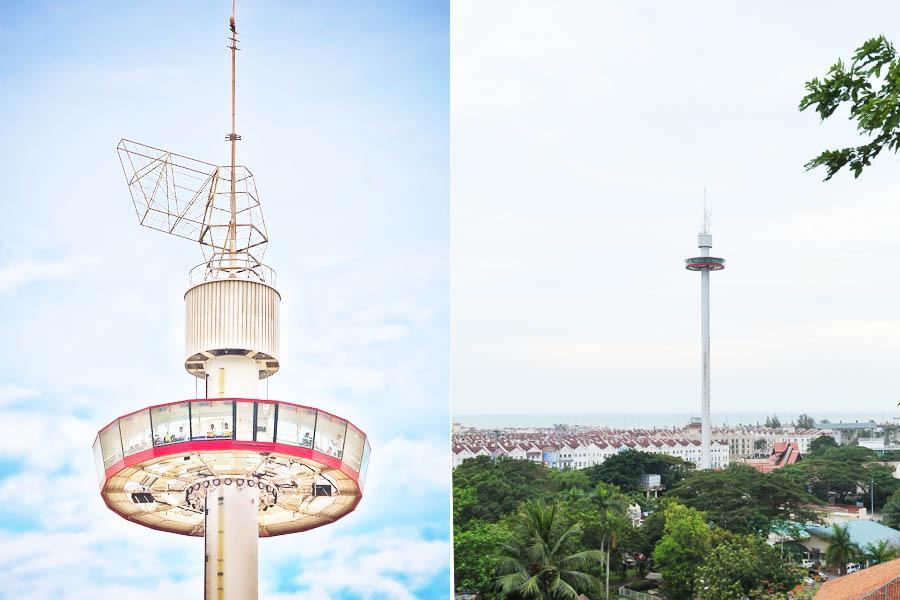 Tempat-Menarik-Di-Melaka-Menara-Taming-Sari