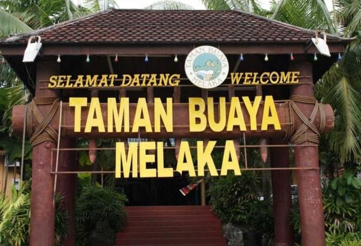 Tempat-Menarik-Di-Melaka-Taman-Buaya-Melaka
