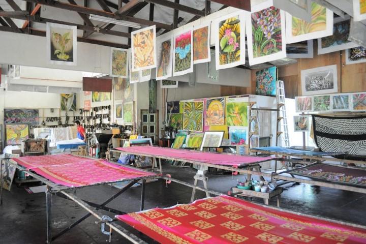 Tempat-Menarik-di-Pahang-Natural-Batik-Village