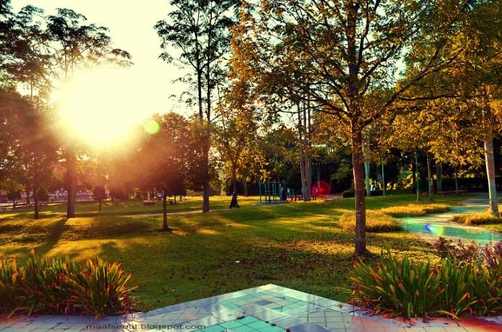 Tempat-Menarik-Di-Kelantan-Taman-Perbandaran-Tengku-Anis