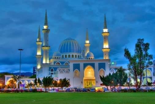 Tempat-Menarik-di-Pahang-Masjid-Sultan-Ahmad-Shah