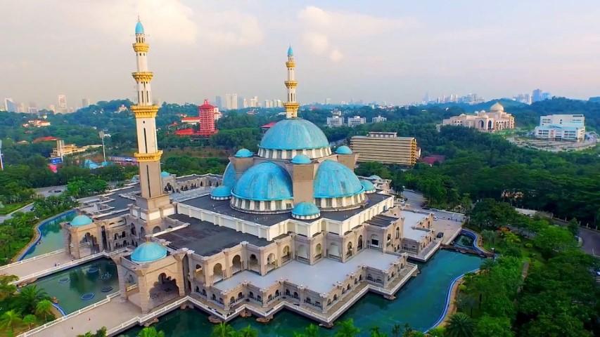 Tempat-Menarik-Di-Kuala-Lumpur-Masjid-Wilayah-Persekutuan
